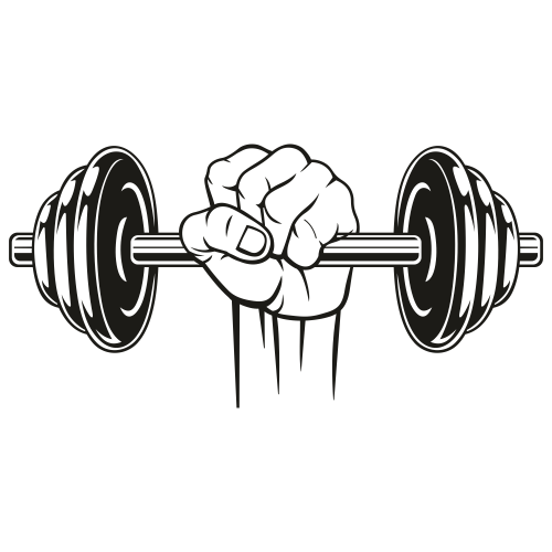 Includes svg Gym /& Fitness SVG dxf png Barbell Svg jpg eps printable Instant download Weight training SVG Powerlifting SVG