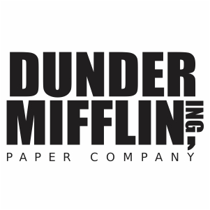 Dunder Mifflin Svg