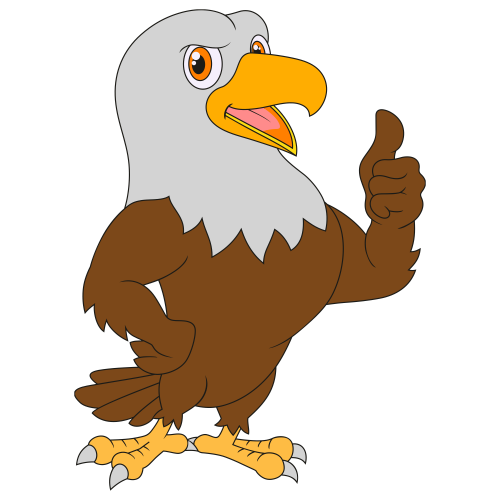 Eagle Thumb up Svg