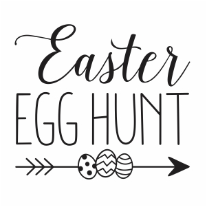 Easter egg hunt vector file