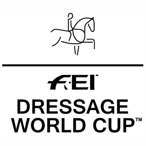 Equestrian FEI World Cup Jumping 2020 vector image