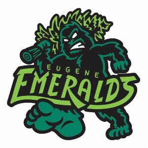 Eugene Emeralds Svg Logo