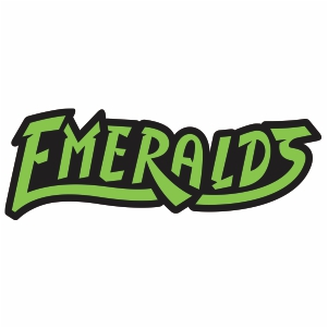 Eugene Emeralds Wordmark Logo Vector