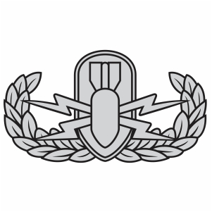 Explosive Ordnance Disposal Badge Svg
