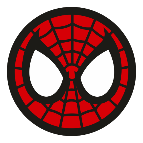 Spiderman Head Vector