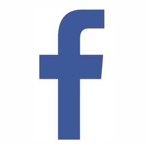 Facebook F icon logo svg
