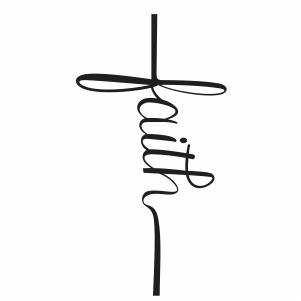 Faith Cross Vector