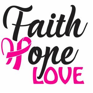 Faith Hope Love Svg