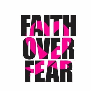 Faith Over Fear Svg