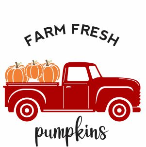 Farm Fresh Pumpkins Svg