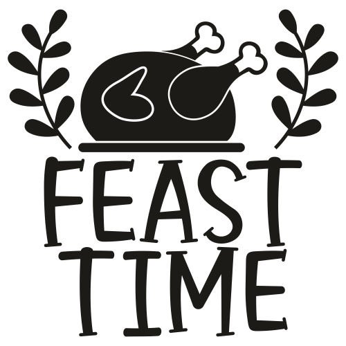Feast Time Svg