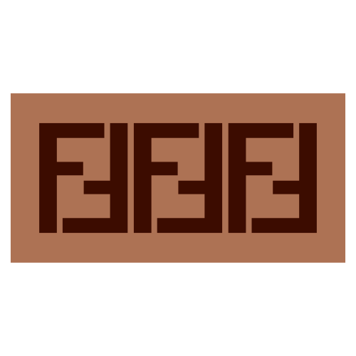 Fendi FF Logo Svg