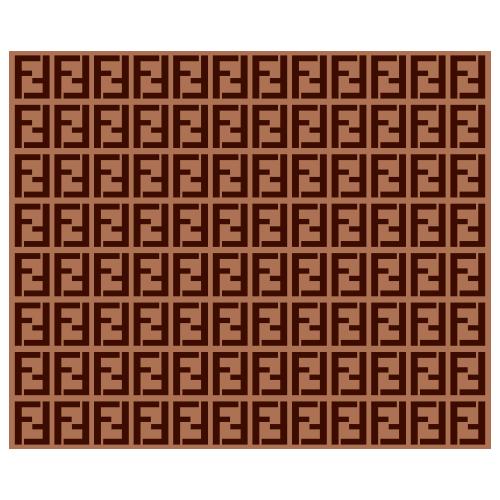 Fendi Pattern Logo Svg