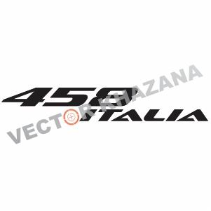 Vector Ferrari 458 Italia Logo
