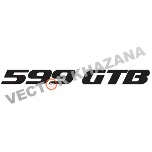 Ferrari 599 GTB Logo Svg