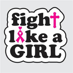 Fight Like A Girl svg