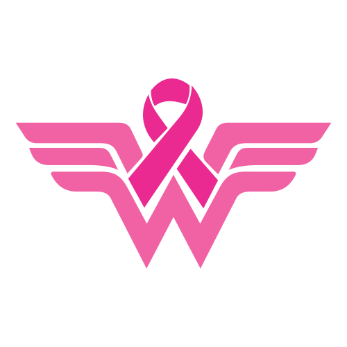Breast Cancer Wonder Woman Svg