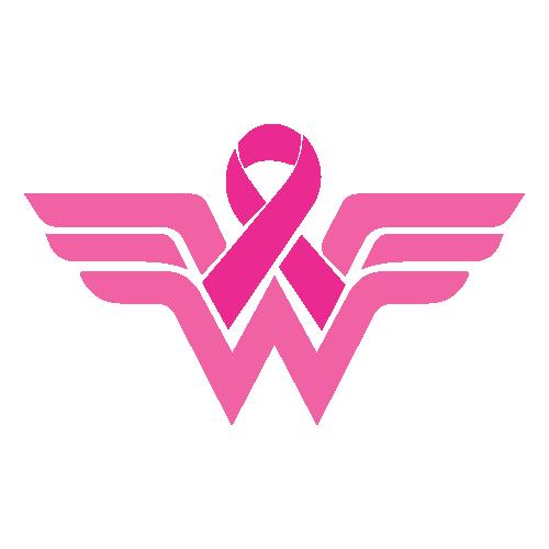 Breast Cancer Wonder WomanSvg