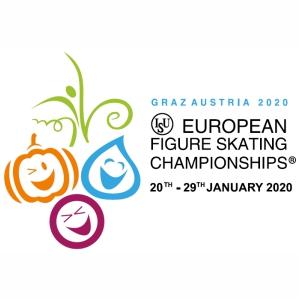 European Figure Skating Championships 2020 svg