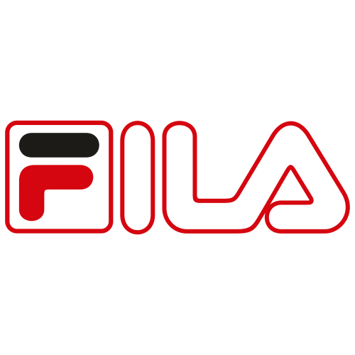Fila Red Outline Logo Svg