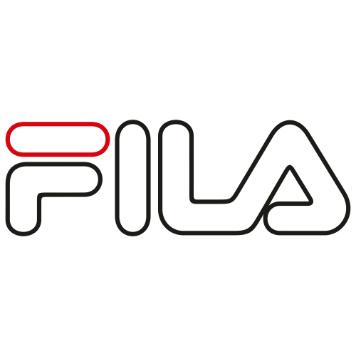 Fila Black Outline Logo Svg