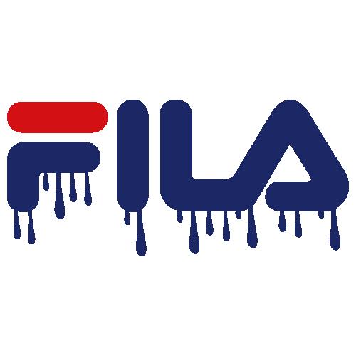 Fila Dripping Logo Svg