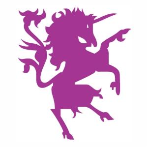 Fly Unicorn Horse vector