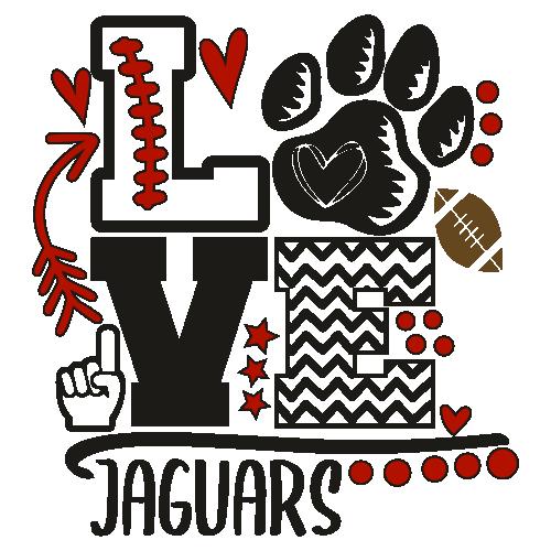 Jaguars Foam Finger Mom Love Svg
