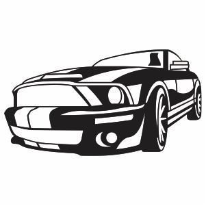 Ford Mustang Logo Vector