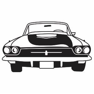 Ford Thunderbird Car Svg Logo