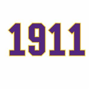 Omega Psi Phi 1911 Logo Svg