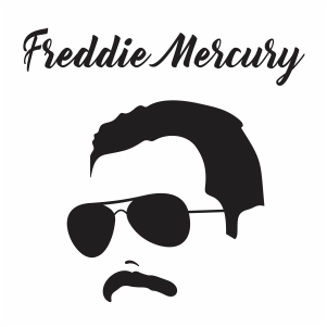 Freddie Mercury Vector