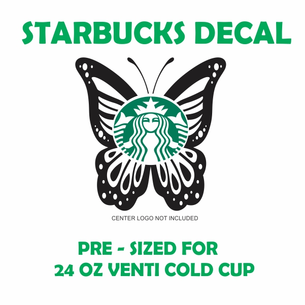 Starbucks Butterfly Svg