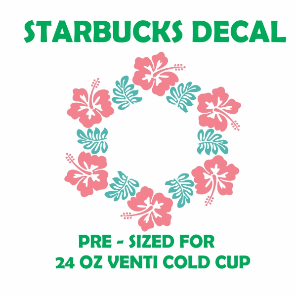 Lily Starbucks Svg