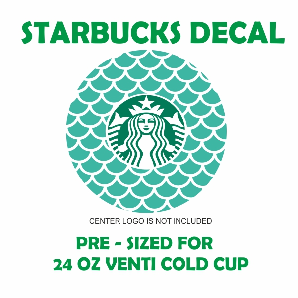 Starbucks Mermaid Svg