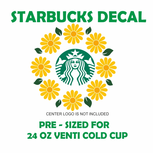 Starbucks Sunflower Svg