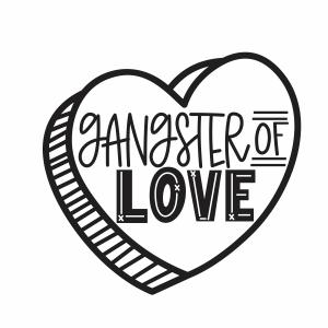 Gangster of Love vector file