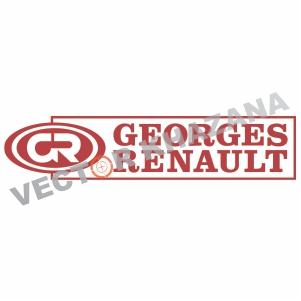 Georges Renault Logo Vector