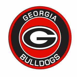 Georgia Bulldogs Football Logo Vector