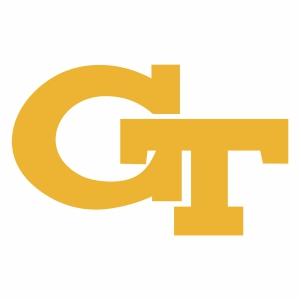 Georgia Tech Yellow GT logo vector file
