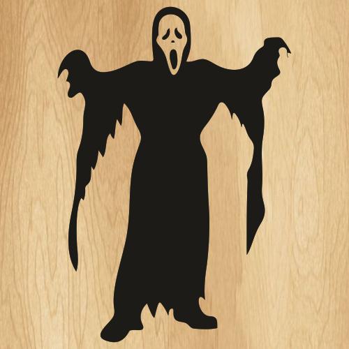 Ghost Kids Scream Svg