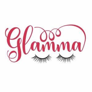Glamma eye svg cut file
