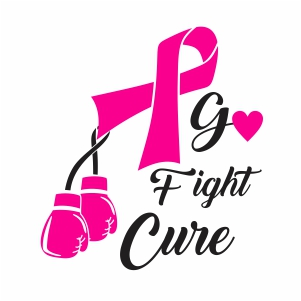 Go Fight Cure Svg