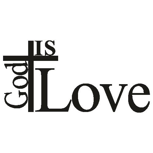 God Is Love Svg