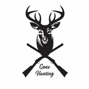 Gone Hunting Svg