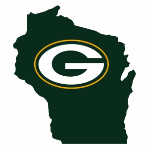 Green Bay Packers Home State Logo Svg Green Bay Packers Home State Svg Cut File Download Jpg Png Svg Cdr Ai Pdf Eps Dxf Format