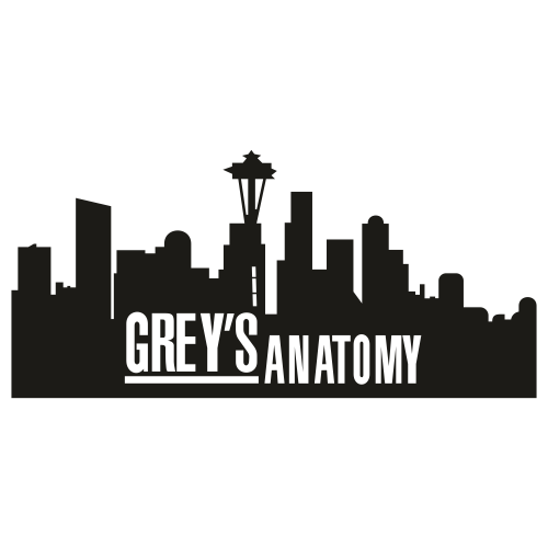 Greys Anatomy City Logo Svg