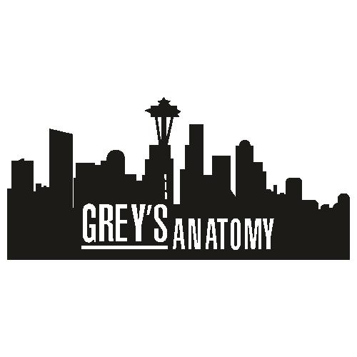 Greys Anatomy City Logo Svg