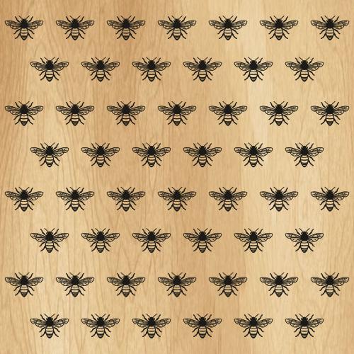 Gucci Bee Pattern Svg