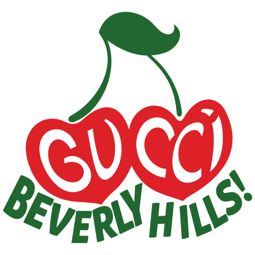 Gucci Beverly Hills Svg